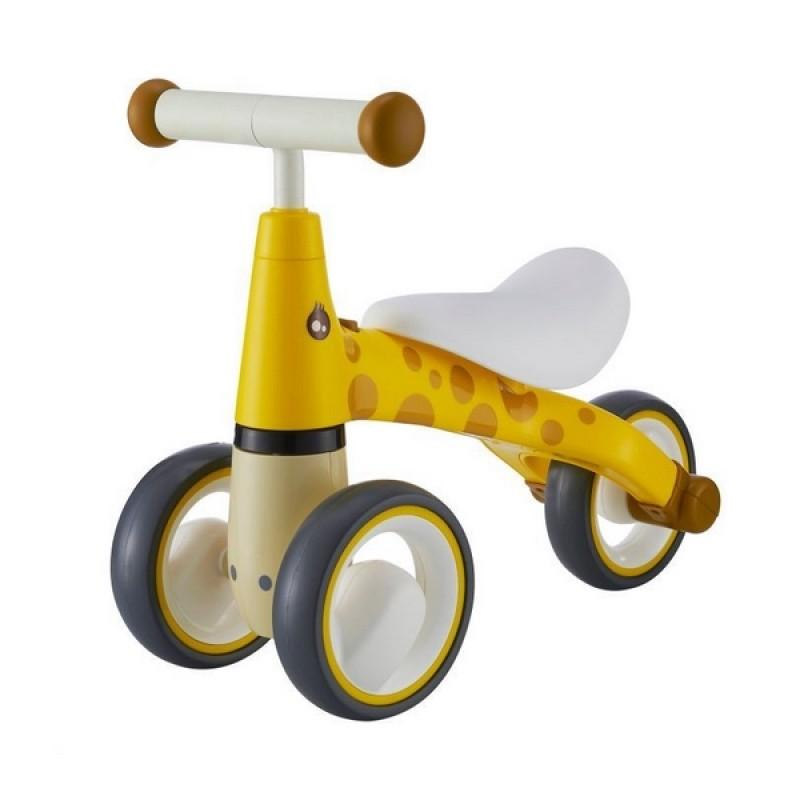 Bicicleta fara pedale Ecotoys LB1603 - Galben