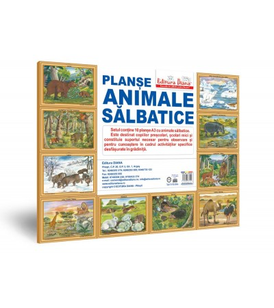 Animale salbatice - Mapa