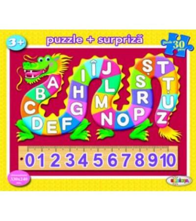 Puzzle - ABC + 123 (30 piese)