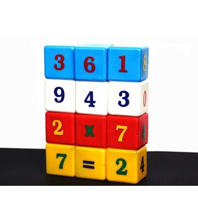 Joc cuburi cu cifre