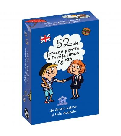 52 de Jetoane pentru a invata Engleza